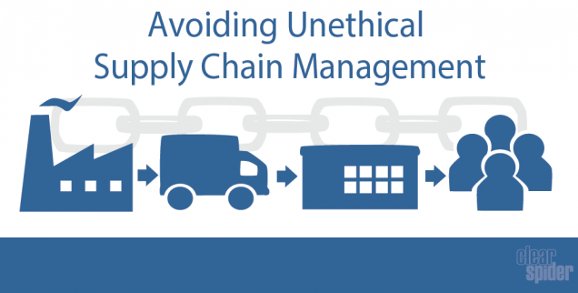 avoiding unethical supply chain management - featured image