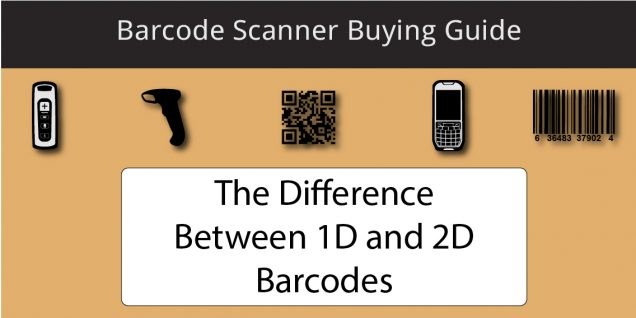 Difference Between 2D and 1D Barcode Scanners