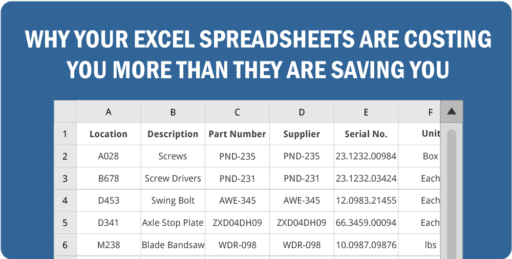 inventory control using excel