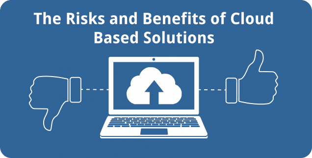 The Risks and Benefits of Cloud Based Solutions - Featured Image