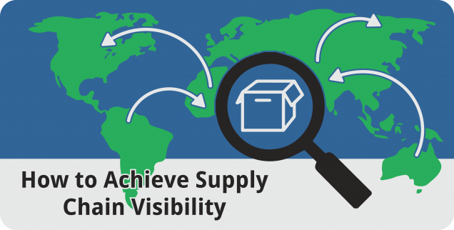 How to Achieve Supply Chain Visibility - Featured Image