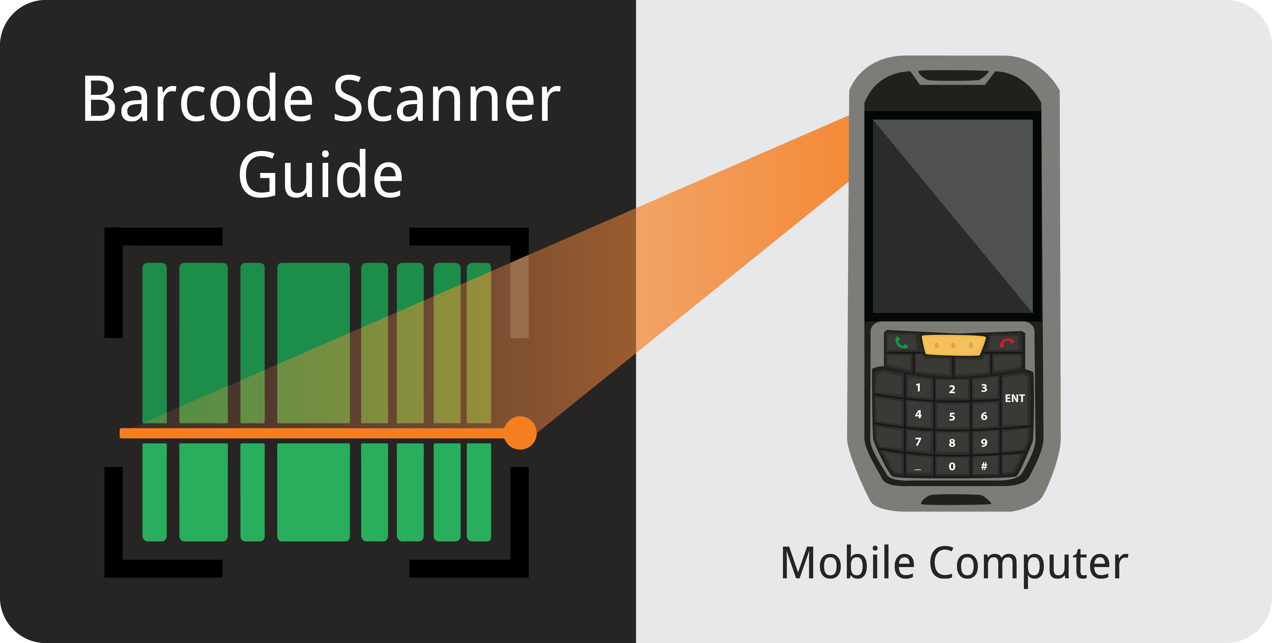 Barcode Scanner Guide Mobile Computer