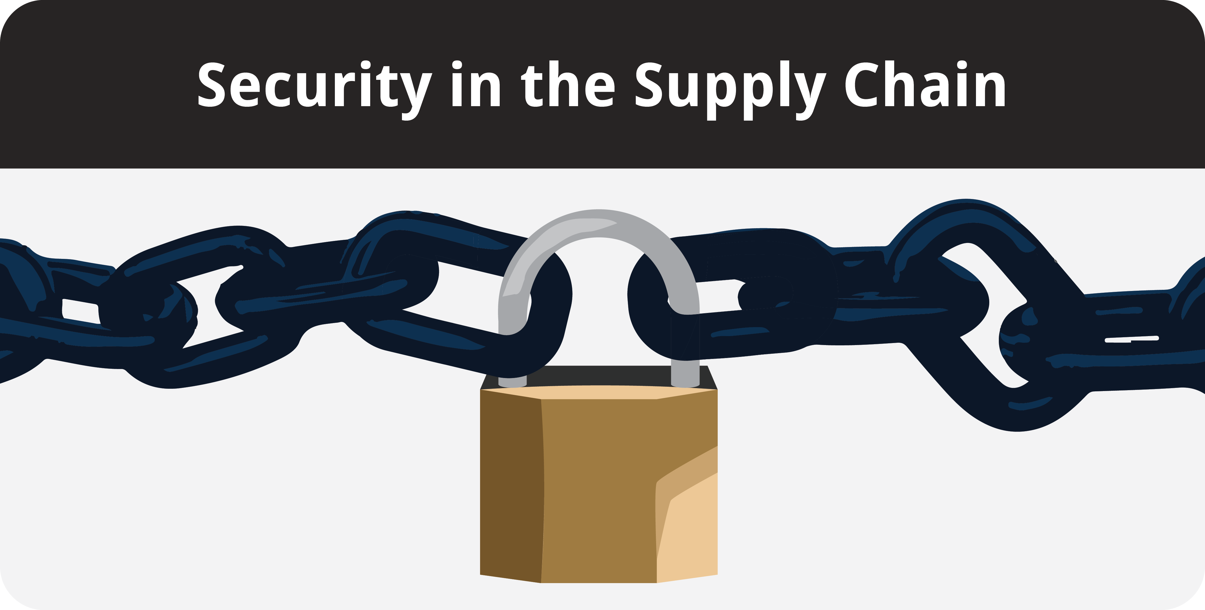 supply chain management and security vulnerability The supply chain as a whole is only truly secure when all entities throughout the supply chain carry out effective, coordinated security measures to ensure the integrity of supply chain data, the safety of goods, and the security of the global economy.