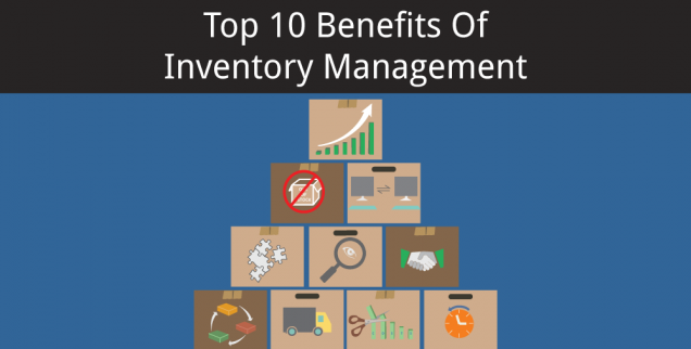 Infographics Series: Top 10 Benefits Of Inventory Management -