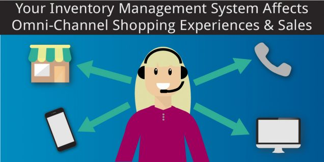 Customer service answering all channels because inventory management affects customers' experiences and sales