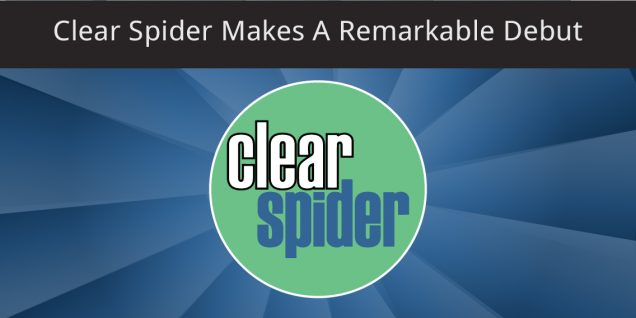 Clear spider makes a remarkable debut