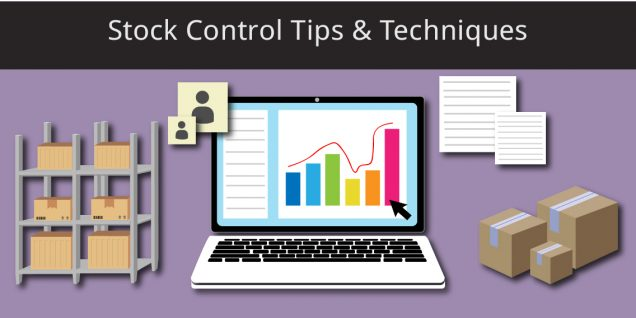 computer managing stock control