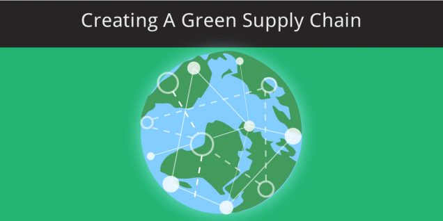 The world creating a green supply chain
