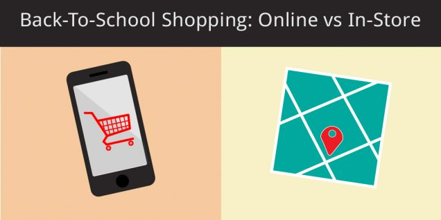 online vs in-store back-to-school shopping
